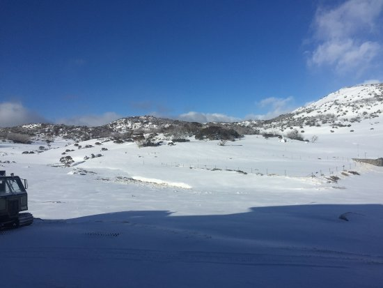 Perisher Valley, Australia: View from room early morning