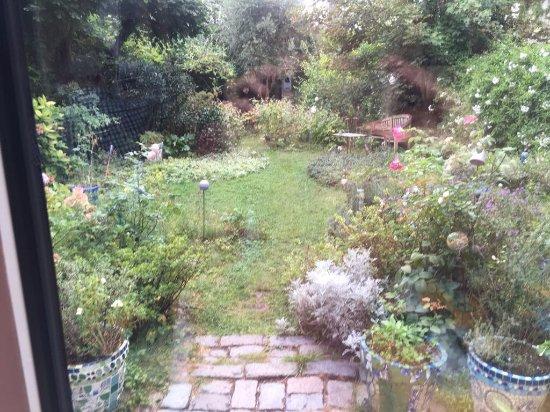 B&B Cosy Corner Bordeaux : Precioso jardin junto al cual desayunamos todas las mañanas