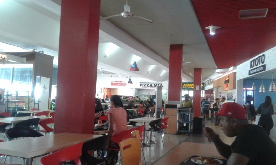Suva, Fiji: Food Court, Damodar City
