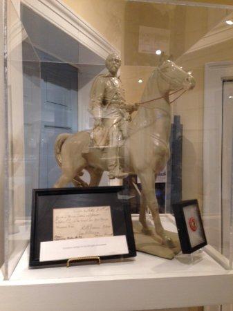 The Hunt-Morgan House : Model of Morgan's statue.
