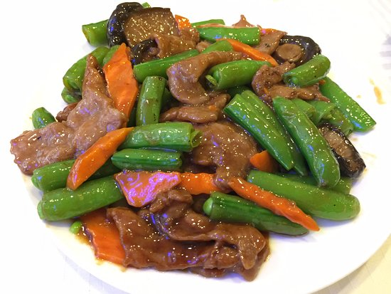 Rowland Heights, CA: 3. Beef with oyster sauce 蠔油牛肉