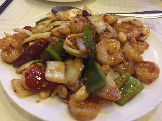 Rowland Heights, CA: 4. Kung Pao Shrimp宮保蝦球