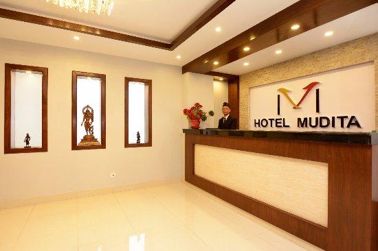 Hotel Reception Area Picture Of Hotel Mudita Kathmandu Tripadvisor