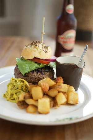 Water Mill, NY: Burger & a Beer @ the Bar $24