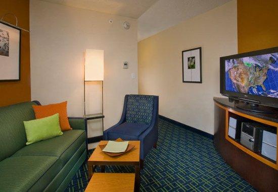 Millville, نيو جيرسي: Suite Sitting Area