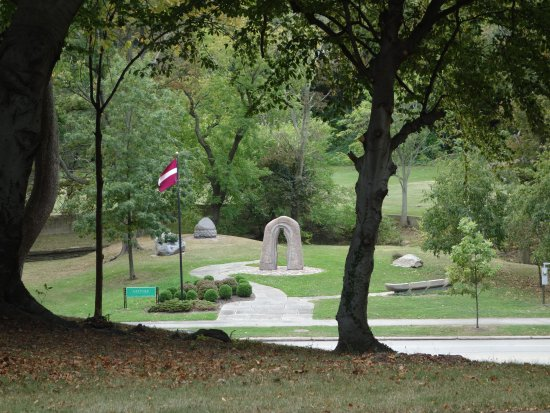 One of the newer gardens - Picture of Cleveland Cultural Gardens ...