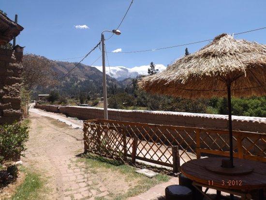 Carhuaz, Perú: ingreso  a la cabaña