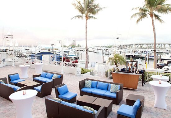 Miami Marriott Biscayne Bay: Marina Terrace Events