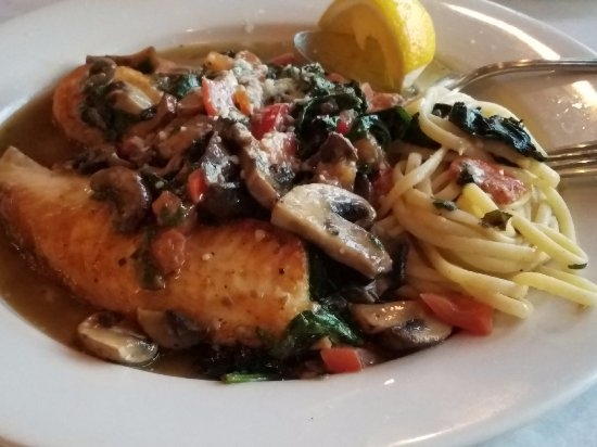 Addison, IL: Tilapia with Funghi - amazing!