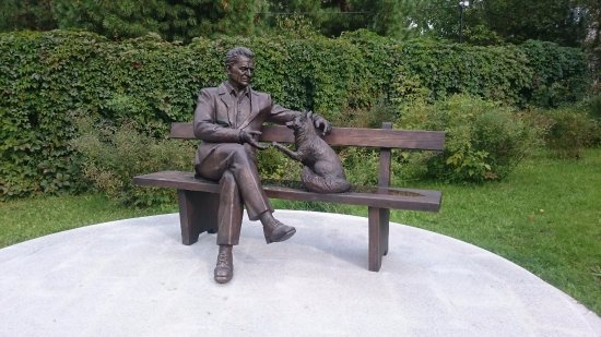 Monument to Academician D.K. Belyaev