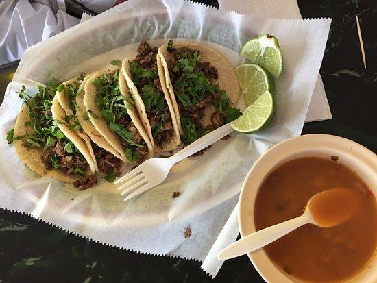 Edinburg, TX: 5 fajita taco plate