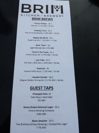 Willoughby, OH: Menu