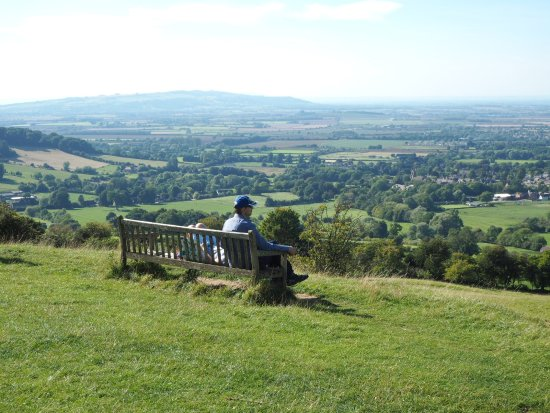 Chipping Campden, UK: Enjoy a Great View while walking from Broadway Tower to Broadway