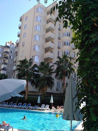 Margarita aparthotel alanya arvostelut sek for Appart hotel 86