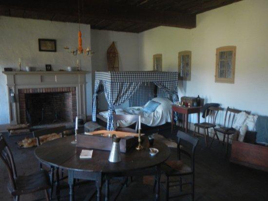 Fort Erie, Kanada: Officers sleeping quarters