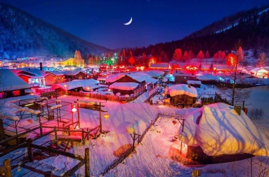 2-Day Private Trip to China Snow Town