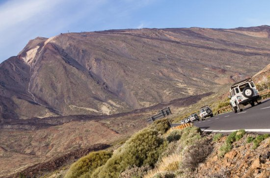 Jeep Safari am Halbtag Teide