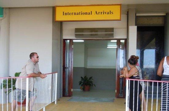 Shared Arrival Transfer: Belize International Airport to San Ignacio...