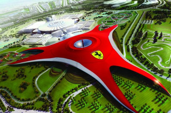 Full day Abu dhabi city tour including Ferrari world theme park