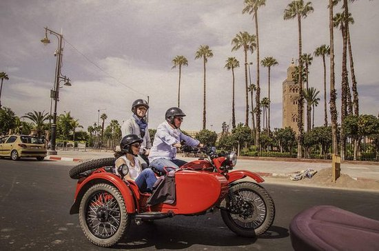 Private sidecar ride : Best of Marrakech 1.5h: The Essential Ride