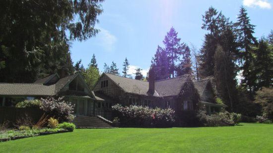 Milner Gardens & Woodland : The tea house