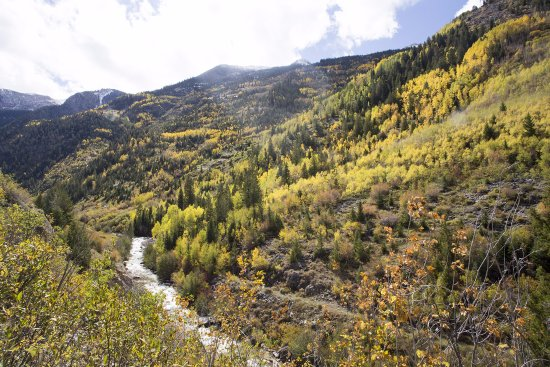 Gunnison, CO: Views on the way to Crystal Mill