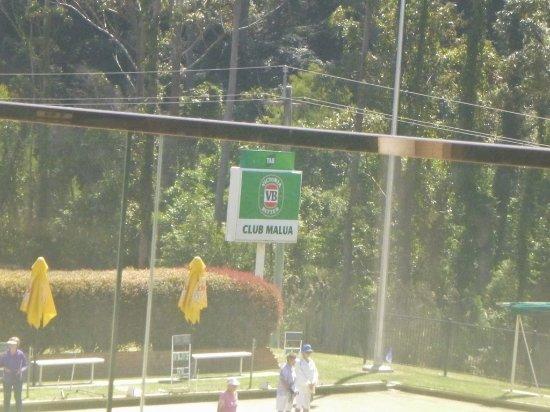 Malua Bay, Australië: Signage