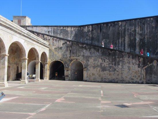 Outside view of Castillo de San Cristobal