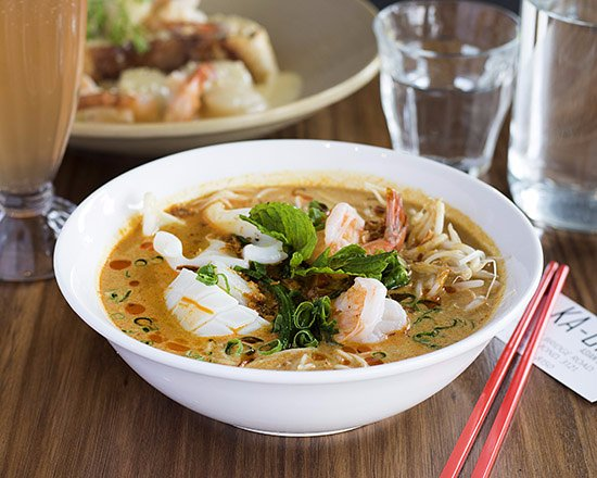 ‪‪Richmond‬, أستراليا: Seafood Laksa  – Based on rich and spicy curry coconut milk soup, with mixture Noddles and Seafo‬