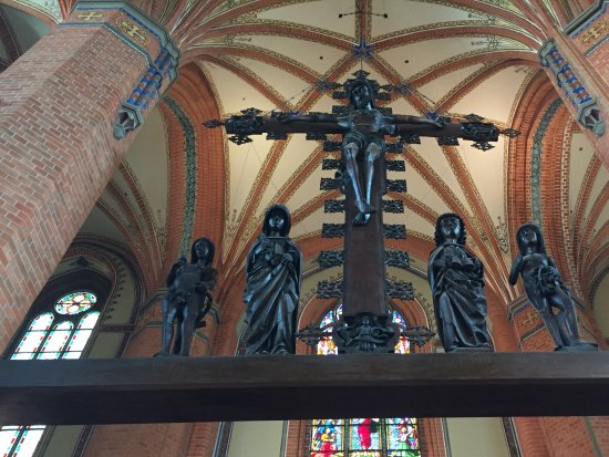 Güstrow, Alemania: Inside crucifix