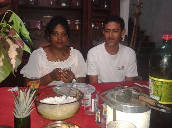 Conceicao De Macabu, RJ: eu e meu marido  na viagen