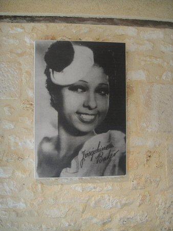Castelnaud-la-Chapelle, France : Protrait de joséphine Backer