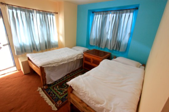 Namche Bazaar, Nepal: Room with Attached bathroom