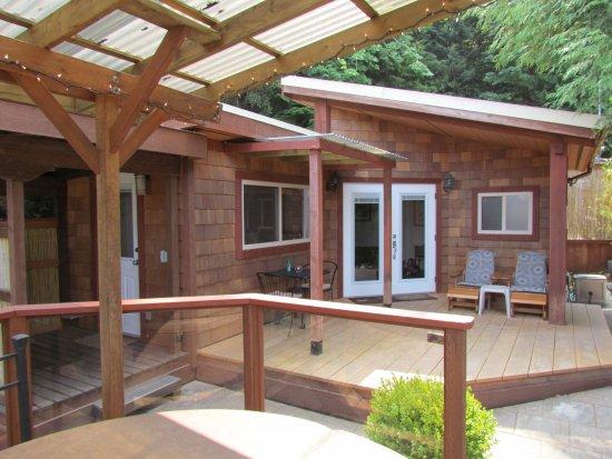 Sechelt, Kanada: Our cabin