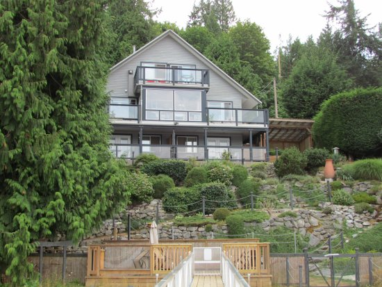 Sechelt, Canada: The main house