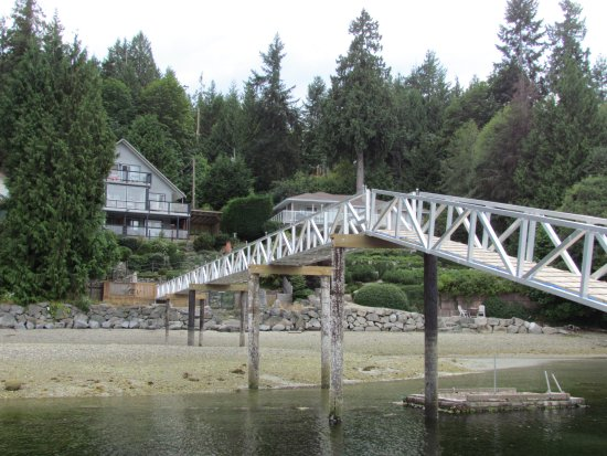 Sechelt, Canada: The dock
