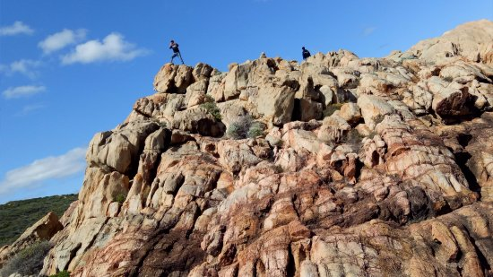 Yallingup, Australia: You can climb all the way up.