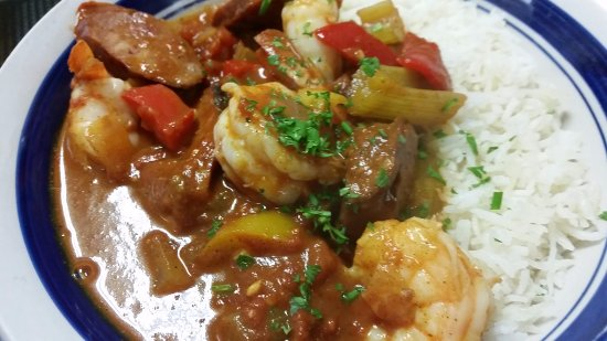 Cornville, AZ: Shrimp Jambalaya