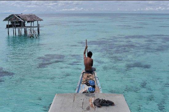 Kepulauan Togian, Indonesia: excursion baignade à 5 minutes de bateau