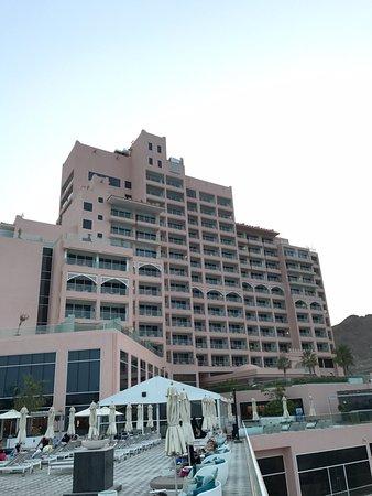 Fairmont Fujairah Beach Resort Hotel Building