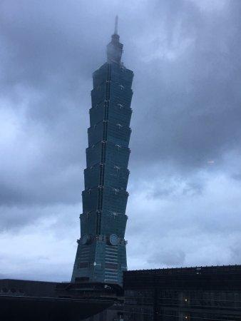 Le Meridien Taipei: Taipei 101 view from Corner Suite