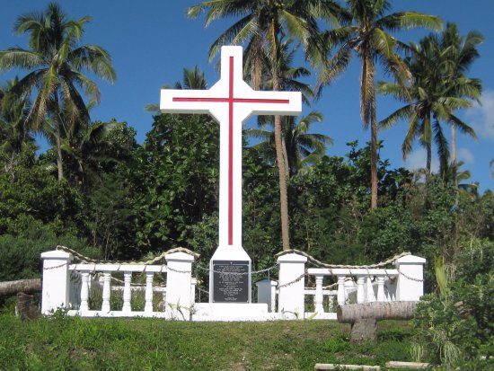 Pangaimotu Island Resort: A touch of island history with Bishop Pompalier.