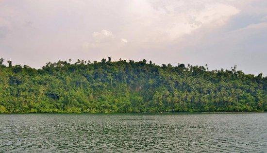 Lake Pandin: Surrounding.