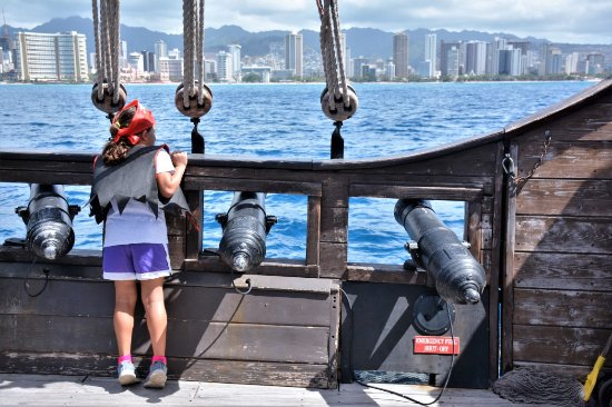 Gorgeous Views Of Waikiki During The Entire Cruise Picture Of - Pirate ship cruise hawaii