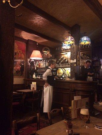 La Brouette: View of the bar
