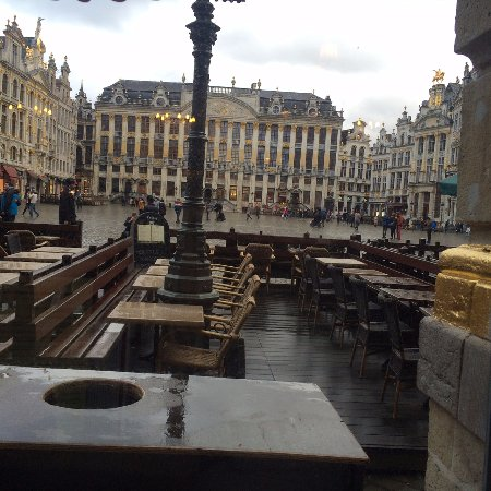 View of Grand Place from La Brouette