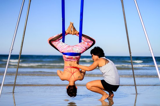 Aerial Yoga by Avi