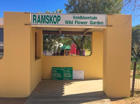 Clanwilliam, Güney Afrika: Reserve entrance