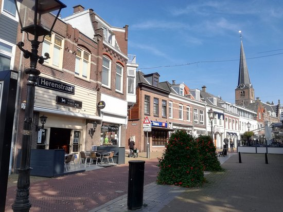 Photo of outside of The White horse pub on the Herenstraat Old Rijswijk
