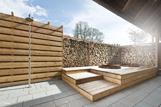 Berühmt Sauna Außenbereich - Bild von Hotel G'Schlossl Murtal, Großlobming EV52